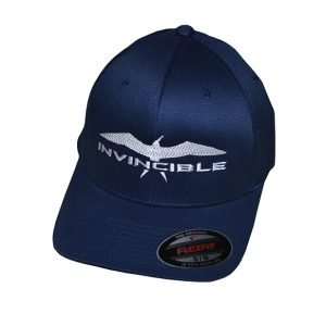 Invincible Boats Flexfit Hat Navy-Front