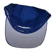 Invincible Boats Flexfit Hat Cobalt Blue-Back