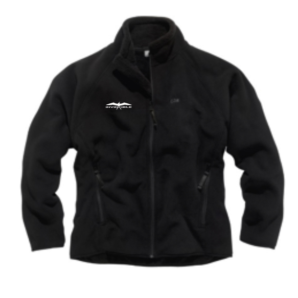 Invincible Boats Gill Polar Fleece Jacket – Black