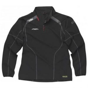 Invincible Boats Gill Race Softshell Quarter Zip Smock Jacket – Black