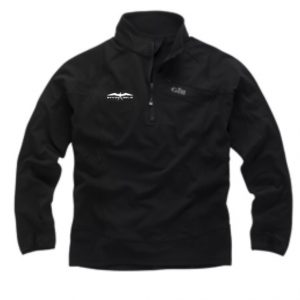 Invincible Boats Gill Thermogrid Zip Neck Jacket – Black