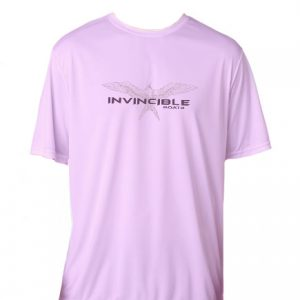 Invincible Boats Pink Microfiber Short Sleeve Shirt