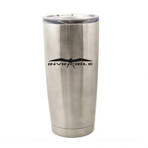 Invincible Boats Stainless Steel Pint Tumbler