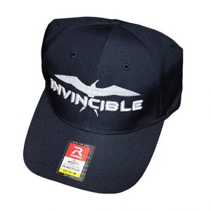 Invincible Boats RActive Hat Dark Blue-Front