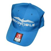 Invincible Boats RActive Hat Light Blue-Front