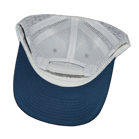 e36b8eac Invincible Boats Blue and White Classic Trucker Snapback Hat
