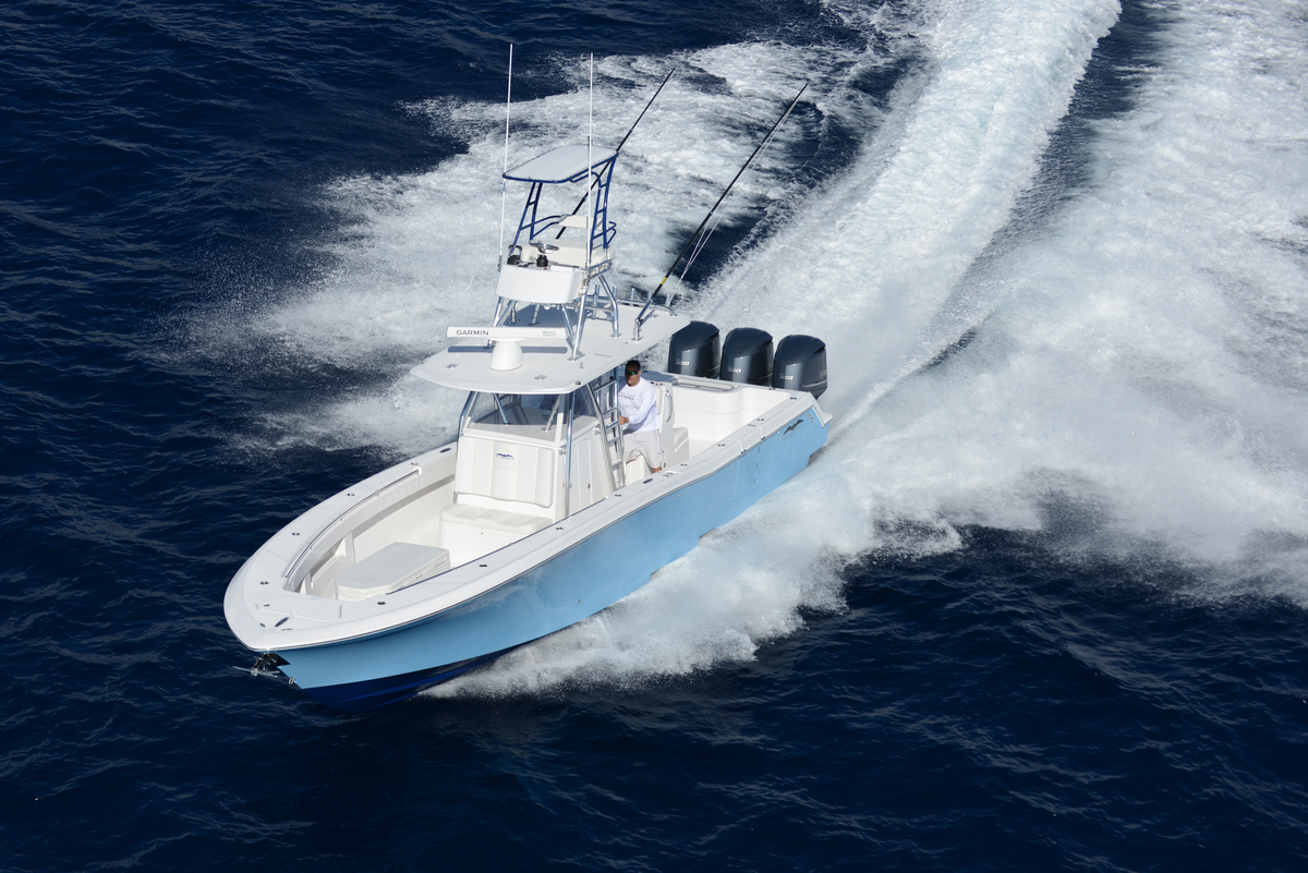 The World Class 36 Open Fisherman Invincible Boat