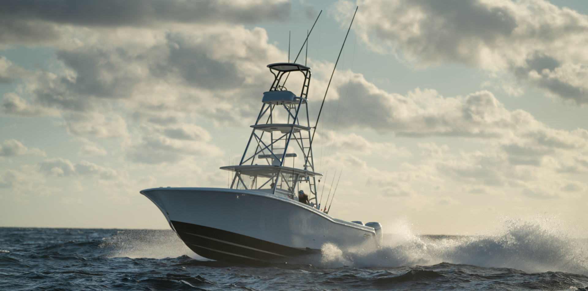 Invincible's world-class 42 foot mono-hull - designed for the truest of offshore fishermen.